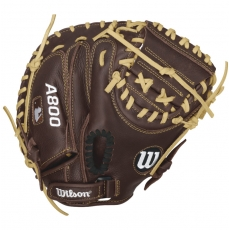 "Wilson A800 Showtime Youth Catcher's Mitt 32"" WTA08RB16CM32"