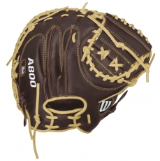 "Wilson A800 Showtime Catcher's Mitt 34"" WTA08RB16CM34"