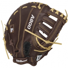 "Wilson A800 Showtime First Base Mitt 11.5"" WTA08RB16BM115"