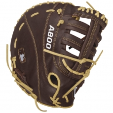"Wilson A800 Showtime First Base Mitt 12"" WTA08RB16BM12"