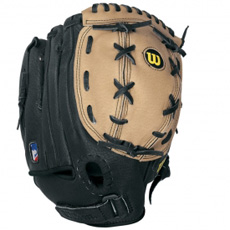 "CLOSEOUT Wilson A425 105 Youth Baseball Glove 10.5"" WTA0425105"