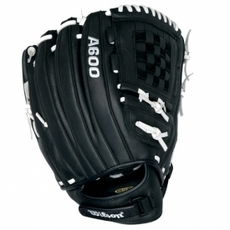 "CLOSEOUT Wilson A600 FP125 Fastpitch Softball Glove 12.5"" WTA0600FP125"