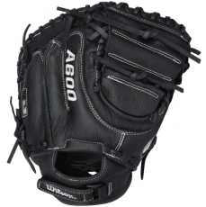 "CLOSEOUT Wilson A600 Catchers Mitt 32.5"" WTA0600BBCMXX"