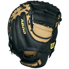 "Wilson A600 DPCM Fastpitch Catchers Mitt 32.5"" WTA0600DPCM"