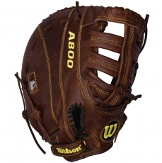 "Wilson A800 Game Ready SoftFit First Base Mitt 11.5"" WTA0800BBBM115"