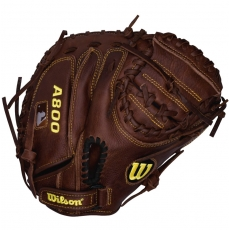 "Wilson A800 Game Ready SoftFit Catchers Mitt 32"" WTA0800BBCM32"