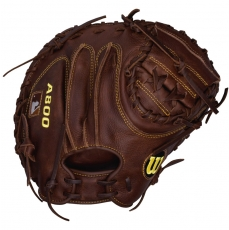 "Wilson A800 Game Ready SoftFit Catchers Mitt 34"" WTA0800BBCM34"