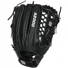 "CLOSEOUT Wilson A2000 Fastpitch Softball Glove 12.75"" WTA2000FP1275SS"