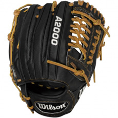 "CLOSEOUT Wilson A2000 Showcase Baseball Glove 11.25"" WTA2000SC1796SS"
