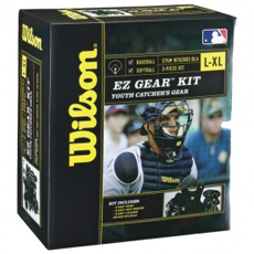 Wilson EZ Gear Catcher's Kit (Ages 7-12) WTA3683