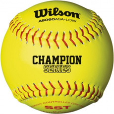 "Wilson ASA Champion Series Softball 12"" (1 Dozen) WTA9106BASA"