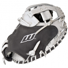 "Worth Liberty Advanced Catchers Mitt Fastpitch Softball Glove 34"" LACMGW"