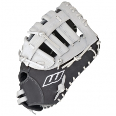 "Worth Liberty Advanced First Base Mitt Fastpitch Softball Glove 13"" LAFBGW"
