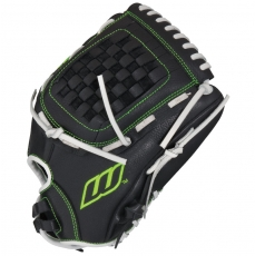 "CLOSEOUT Worth Shutout Series Fastpitch Softball Glove 12.5"" SO125FS"