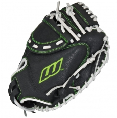 "Worth Shutout Series Youth Fastpitch Catchers Mitt 32"" SOCM32Y"