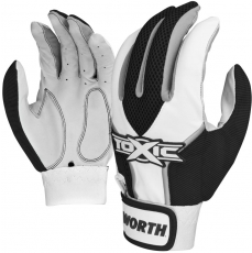 Worth Toxic Batting Glove (Adult Pair) TOXBG