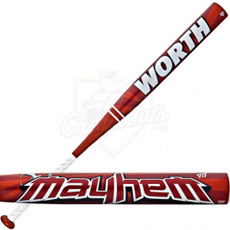 Worth ASA Mayhem Slowpitch Softball Bat SBMTDA