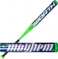 CLOSEOUT 2014 Worth Mayhem Booger Softball Bat MAY120U USSSA