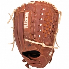 "CLOSEOUT Worth Century Series Fastpitch Softball Glove 12.5"" C125X"