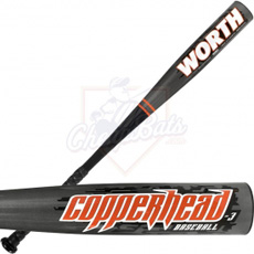 Worth Copperhead BBCOR Baseball Bat -3oz ABBCH3