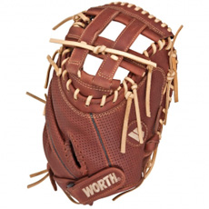 "Worth Liberty FPX Fastpitch Catchers Mitt 34"" LFPXCM"