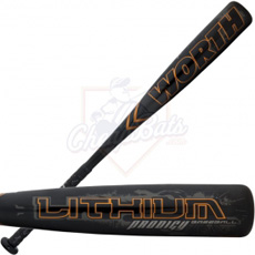 2012 Worth Lithium Prodigy Senior League Baseball Bat -10oz SL1058