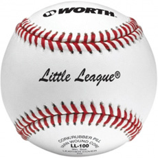 "Worth Little League Baseball 9"" 1 Dozen LL100"