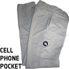 CLOSEOUT Worth Softball Pants With Cell Phone Pocket Adult MSPP