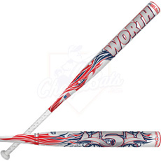 BLEMISHED 2013 Worth Jeff Hall 454 ASA Slowpitch Softball Bat SB4JHA