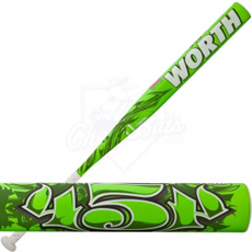 Worth 454 Legit Slowpitch Softball Bat ASA SB4LA