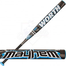 2013 Worth Mayhem BJ Fulk Slowpitch Softball Bat USSSA SBBJUS