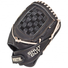 "CLOSEOUT Worth Shut Out FPX Fastpitch Softball Glove 11.75"" SO117FPX"
