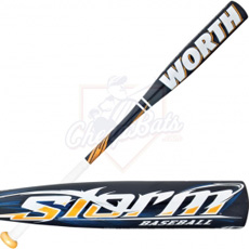 Worth Storm Baseball Bat Youth -10oz YBSTM