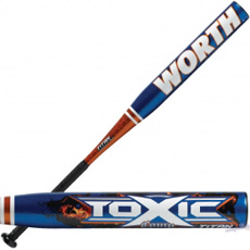 Worth Toxic Baseball Bat Youth -11oz. YBTOX