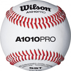 Wilson A1010 PRO Pro Series Collegiate & High School Baseball WTA1010BPROSST