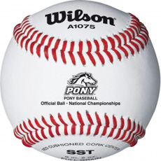 Wilson A1075BSST Pony League Tournament Baseball