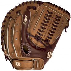 Wilson A2K Fastpitch Softball Catchers Mitt CM 34""