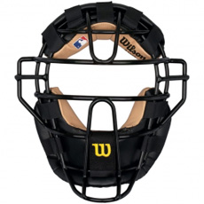 Wilson New View Umpire Steel Face Mask WTA3077 BLST